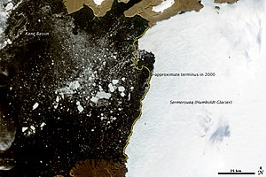 English: NASA Earth Observatory Satellite imag...