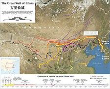 Lokasi Tembok Raksasa Cina
