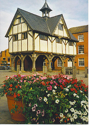 English: Old Grammar School, Market Harborough...