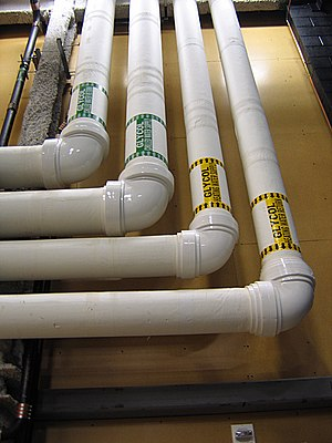 PVC pipes. Taken backstage at the new Guthrie ...