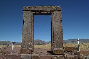 Puerta de la Luna - Tiahuanaco (Bolivia)