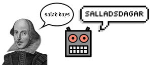 Illustration of bad machine translation from E...
