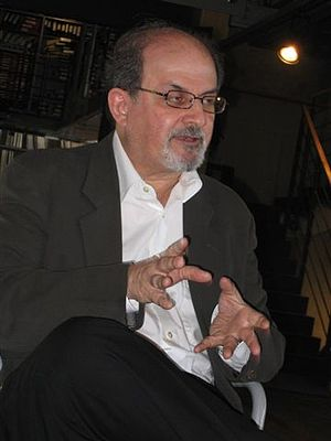 Salman Rushdie (b. 1947), British-Indian writer