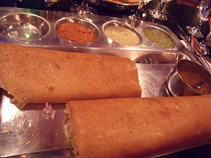 Spring Dosa at Udupi Palace
