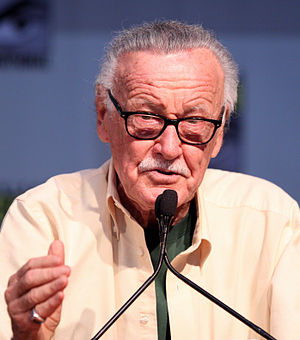 English: Stan Lee at the 2010 Comic Con in San...