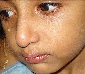 English: Tears , often at childhood days. മലയാ...
