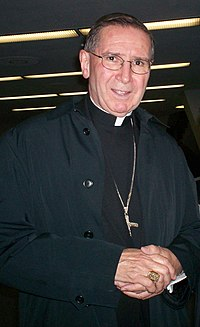 His Eminence Roger Cardinal Mahony at the Religious Education Congress in Anaheim in March 2006
