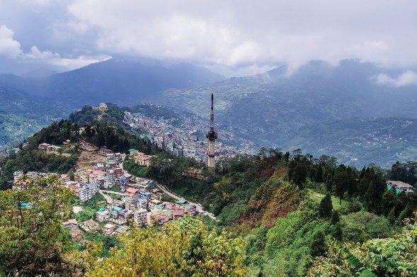 Image of gangtok in Sikkim