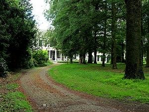 Nederlands: Landgoed Burgst, is niet toegankel...