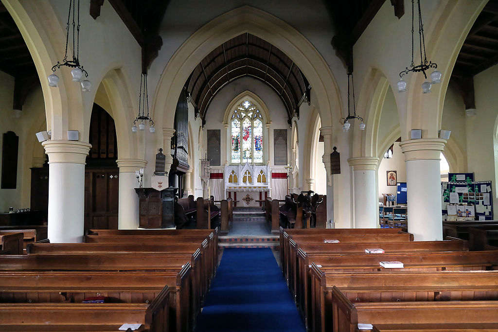 FileChurch Of St Mary Matching Essex England Nave