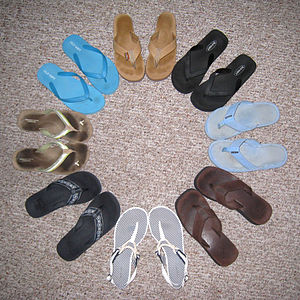 you can never have too many sandals :)