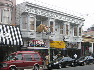 Haight-Ashbury, San Francisco, California, USA