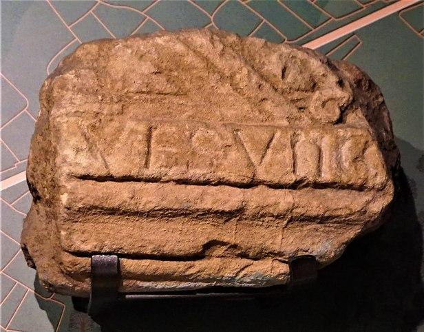 Inscription from the Roman Baths - Roman Baths (Bath)