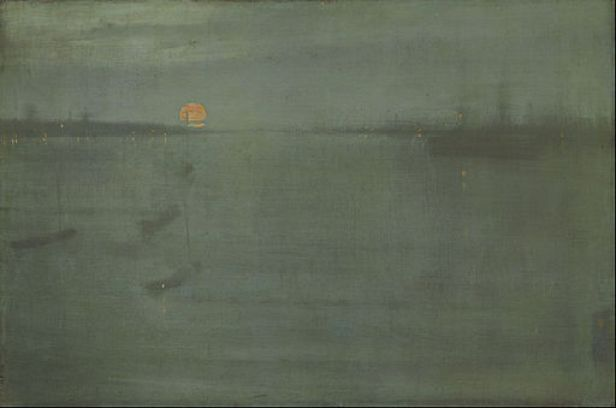 James McNeill Whistler - Nocturne- Blue and Gold - Southampton Water