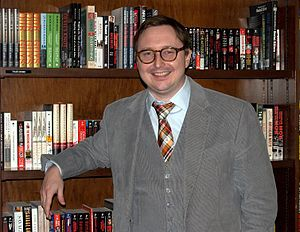 John Hodgman at Barnes & Noble Union Square in...