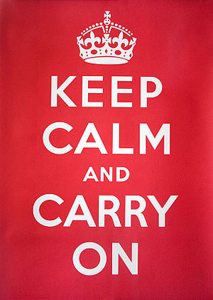 English: Keep Calm and Carry On UK government ...