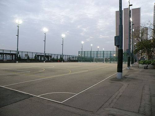 Kennedy Town Temporary Recreation Ground (photo by Exploringlife, via Wikimedia Commons)