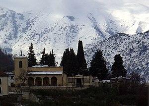 English: Church Santa Maria della Neve/Concane...