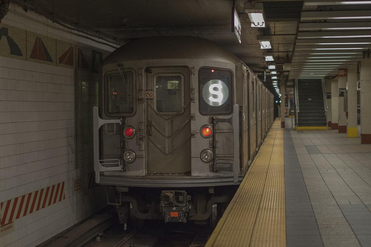File R62a Subway Car 1950 Shuttle September 5th 2014
