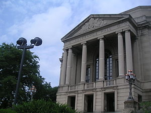 Severance Hall in Cleveland, Ohio