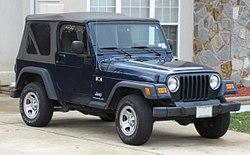 TJ Jeep Wrangler X