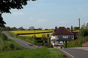 English: The Trooper Inn Froxfield. Parts of t...