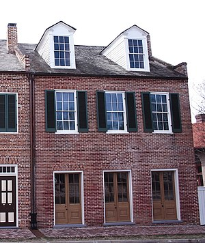 English: William Johnson House, Natchez, Missi...