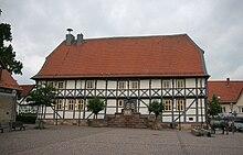 Rathaus am Marktplatz in Zierenberg