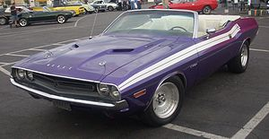 1971 Dodge Challenger photographed in Montreal...