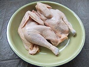 Avoid eating chicken wings.....