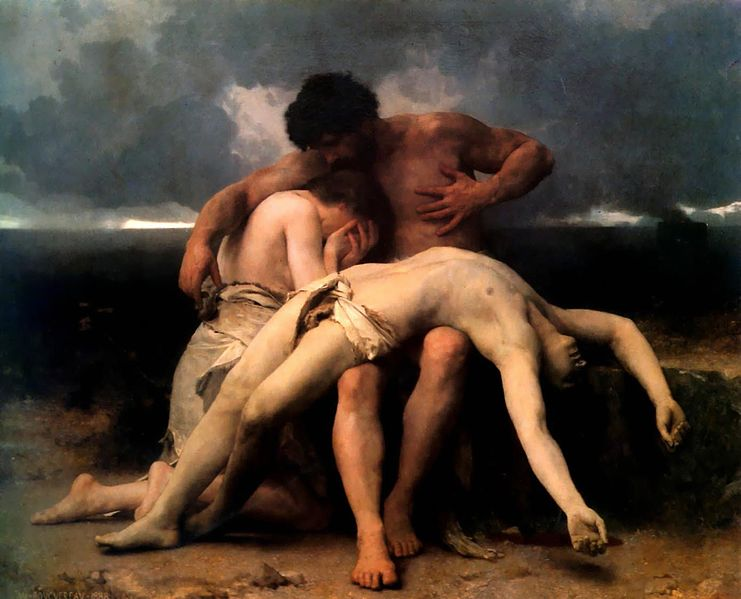 The First Mourning, William Bouguereau