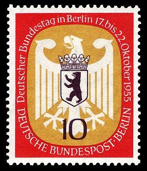 Deutsche Bundestag (parliament of Germany) in ...