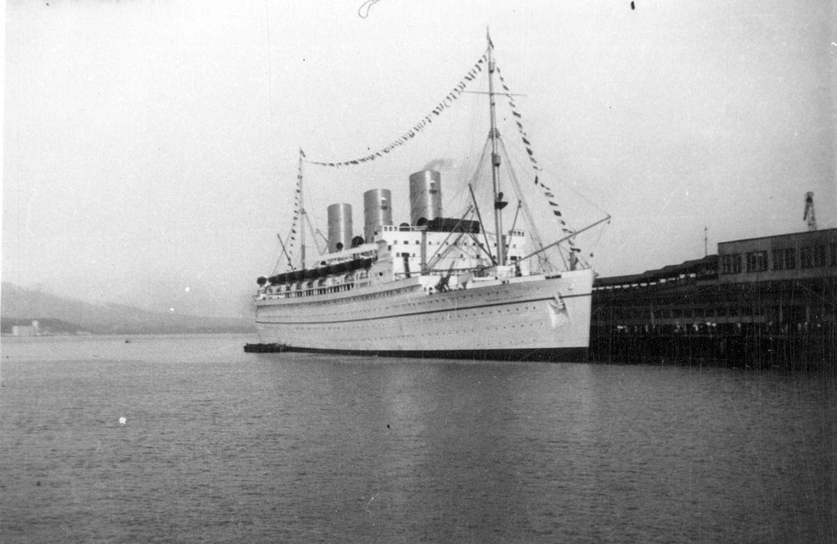Port Cruise Vancouver Ship