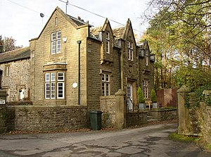English: Eshton Lodge, Eshton This house, typi...