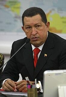 Hugo Chávez, le 2 avril 2010.