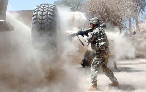 AT4 använd i strid i Irak