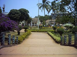 Margao Municipal Garden, located in the heart ...