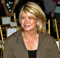 Martha Stewart at a 2006 Cynthia Rowley fashion show.
