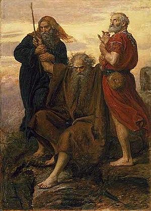 English: Victory O Lord, by John Everett Milla...