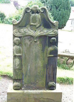 English: Old Headstone