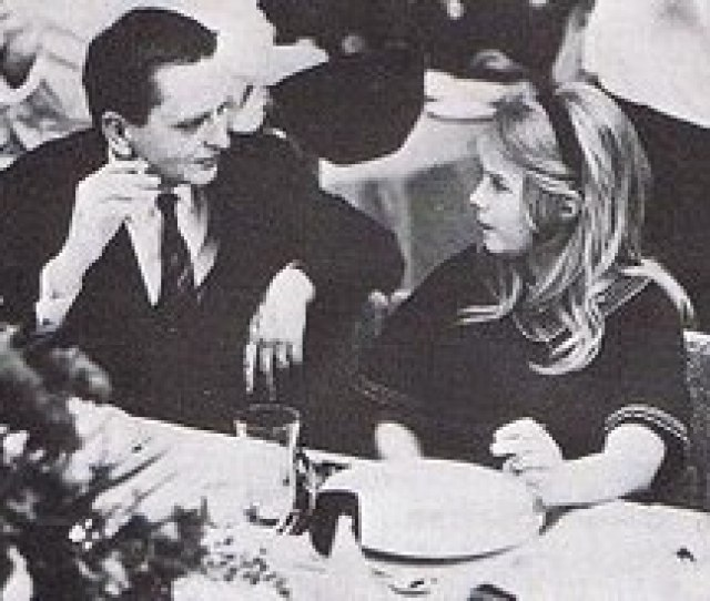 Olof Palme Who Played Himself In An Uncredited Role In The Movie And Lena Nyman Taken At The Guldbagge Award Ceremony Nyman Won The 1967 Award For Best