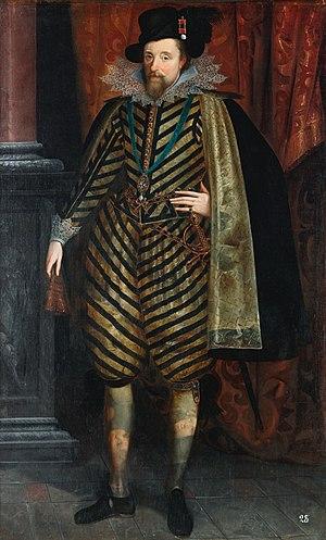 English: James VI of Scotland, I of England an...