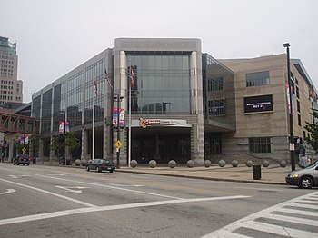 English: Quicken Loans Arena, Cleveland, OH Fr...