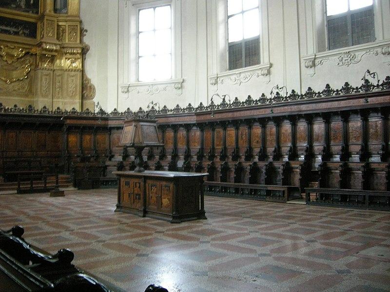 Plik: San Domenico, Bolonia, chór między Damiana z Bergamo, 1541/49 04.JPG
