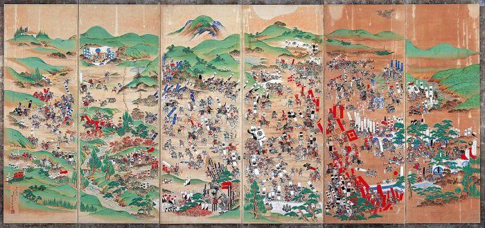Batalha de Sekigahara em que Musashi participou