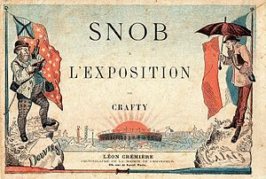 Description= Cover page of the Book Snob à l'e...