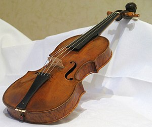 7/8 violin from 1658 by Jakob Stainer (Absam T...