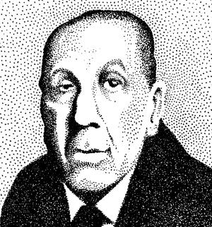 Stippled Borges