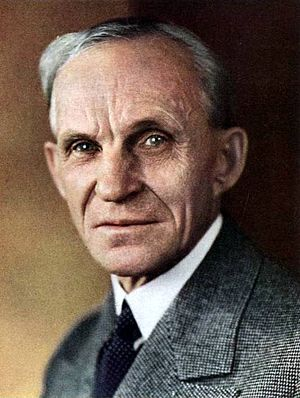 Henry Ford on the cover of Time Magazine, Janu...