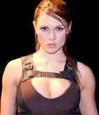 Alison Carroll, the official Lara Croft model